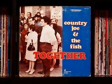Country Joe and the Fish ♫ Together ♫ Rare EX Vanguard 1st Press Vinyl LP Unipak