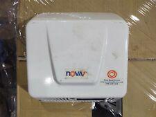 Nova1 Hand Dryer White Epoxy on Aluminum Surface Mounted Hard Wired 110 to 120 V