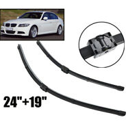2Pcs/set Front Windshield Wiper Blades Kit For BMW 3 Series E90 E91 05-09