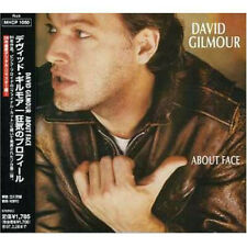 David Gilmour – About Face (CD, Album, RE, RM) Brand New, Japanese Edition wOBI