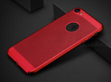 For iPhone X 7 6 Plus Ultra-thin Shockproof Full Protective Hard Back Case Cover