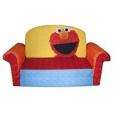 Elmo Flip Open Sofa Sesame Street Kids Toddler Furniture Lounger Couch Chair