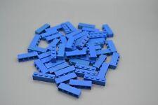 LEGO 50 x Basisstein Baustein blau Blue Basic Brick 1x4 3010