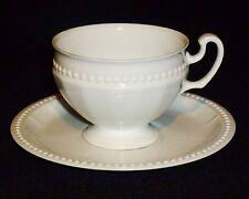 Hutschenreuther Visconti White Cup & Saucer
