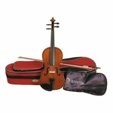 Stentor Student 2 Full Size 4/4 Violin Outfit 1500A Case Bow Rosin