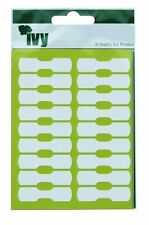White Jewellery Tag Labels 10mmx38mm - STICKY LABELS SELF ADHESIVE