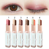 Two tone Eye Shadow pen Eyeshadow stick Makeup Portable Cosmetic Beauty N0
