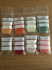 Scentsy  8  Wax SAMPLES, Warmers Yankee, Try Them Before You Buy Full Bars