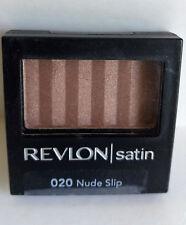 Revlon Luxurious Color Satin Eyeshadow Nude Slip 020