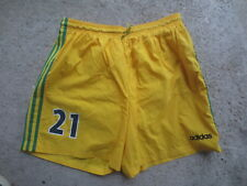 Short F.C NANTES porté n°21 ADIDAS vintage home football collection 50 XL