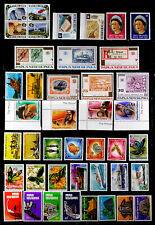 PAPUA NEW GUINEA: 1970'S STAMP COLLECTION UNUSED SETS