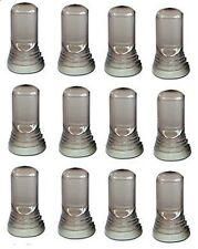 12 Liquor Bottle Universal Pour Spout Pourer COVER DUST CAP CAPS Bartender Bar