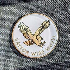 White Eagle Dayton Zenith Wire Wheel Chips Emblems Decals Set Of 4 Size 275in