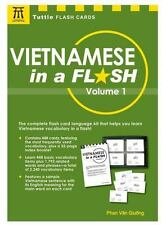Tuttle Flash Cards: Vietnamese in a Flash Kit Volume 1 by Phan Van Giuong...