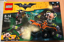 LEGO SET BOITE NEUF THEME BATMAN THE MOVIE 70914 BANE TOXIC TRUCK ATTACK CAMION