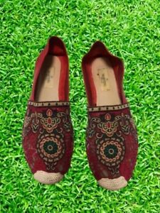 Valentino Espadrilles Red with Embroidered Lace 39
