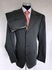 Joop Anzug Original Einreiher Dunkelgrau Unifarben Schurwolle Gr. 102