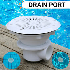 1pc Swimming Pool Main Drain Port Bottom Spa Water Outlet Suction Accessory Mgic