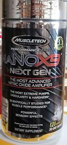 MuscleTech naNOX9 Next Gen Advanced N.O. Pump Amplifier 120 Rapid Caplets