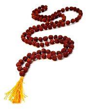 Rudraksha Rudraksh Japa Mala 8mm Beads Approx Quality Rosary 108 +1 Meditation