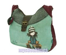 NEW * THE FOXES * SANTORO GORJUSS SLOUCHY SHOULDER BAG WITH FREE POST 221TF