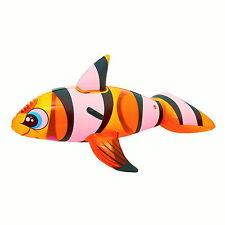 Schwimmtier Clown Fisch 158cm Badeartikel Tier aufblasbare Luftmatratze 9649