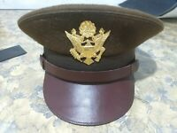 WW2 US army officer hat..