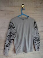 80s 90s vtg crazy graphic  sweatshirt sweater jumper refA9 small