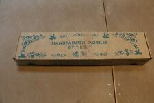 Vintage 1970's Hand Painted Original by IRMI Musical Angel Crib Mobile # M813