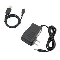 AC/DC Power Adapter Charger + USB Cord for Velocity Micro Cruz Tablet T100 T103