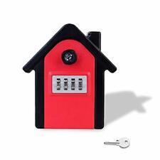 New listing Lockwish Wall Mounted Combination Lock Box Weatherproof Lock Box House Key Ke.