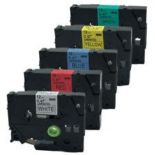 5PK color Compatible for Brother Label Tape TZ  TZe-231 431 531 631 731 PT-H105