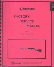CROSMAN MODEL 1100 Trapmaster Co2 FACTORY SERVICE MANUAL HANDBOOK