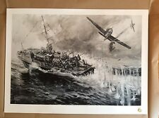 Limited Edition Aviation Print SARF Whaleback FW190 A8 Keith Burns