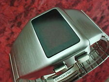 Anni 70 anni'70 vecchio VINTAGE STILE LED LCD DIGITALE Rara Retrò Orologio da uomo 12 & 24 HR L