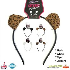CAT EARS Hen Night Ladies Girls Mickey Party Fancy Dress Metal Alice Band 721050