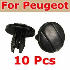10Pcs Splash Guard Trim Clips Fastener Inner Liner For Peugeot  207 307 206 SW