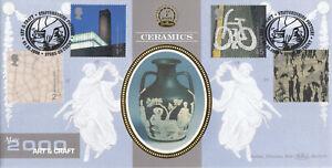 (87177) GB Benham FDC BLCS180 Art & Craft Staffordshire Pottery Stoke 2000