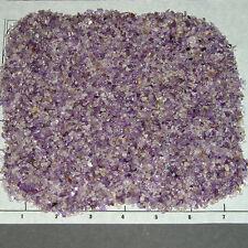 AMETHYST LILAC 1-3mm tumbled, 1/2 lb bulk xxmini stones sand So Africa lavender