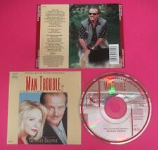 CD SOUNDTRACK MAN TROUBLE Gerorges Delerue 1992 VSD-5369 USA no mc lp (OST7)