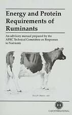 Energy and Protein Requirements of Ruminants by G. Alderman (Paperback, 1993)