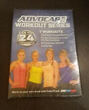Advocare Workout Series: Can You 24 (DVD) minute Workouts exercise fitness NEW