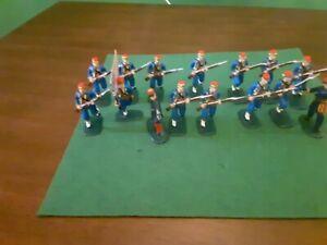 Armies In Plastic 1/32 Civil War Union 146th N.y. Zouaves  Plastic Painted...