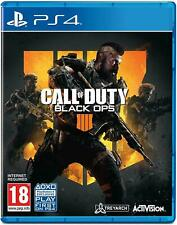 CALL OF DUTY BLACK OPS 4 IV - PLAYSTATION 4 - NEW SEALED - SAME DAY DISPATCH