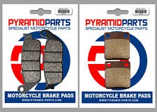 Daelim 250 S2 2006 Front & Rear Brake Pads Full Set (2 Pairs)
