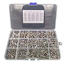 500pcs/Set Stainless Steel Hex Socket Cap Head Bolts Screws Nuts M3 M4 M5 304 US