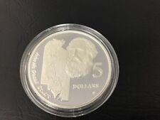 1994 $5 silver coin John McDouall Stuart - ex masterpieces set