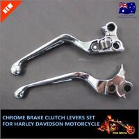 Brake & Clutch Levers Chrome For Harley 1996/1997/1998/1999/2000/2002/2003 XL
