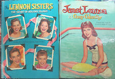 Lennon Sisters Set of 2 Books Larry Welk Holiday Island Camp Calamity HB small