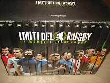 BOX COFANETTO 16 DVD I MITI DEL RUGBY E I MOMENTI LEGGENDARI SEALED NEW 2012